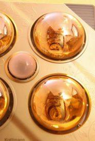 Đèn Sưởi Nhà Tắm Kottmann 4 Bóng Vàng