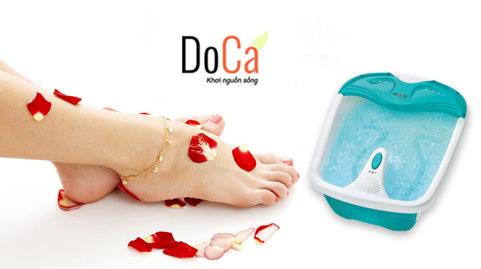 Thiết bị bồn massage chân của thương hiệu đẳng cấp Doca