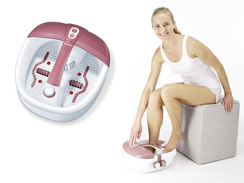 Chân cứng đá mềm với máy massage chân