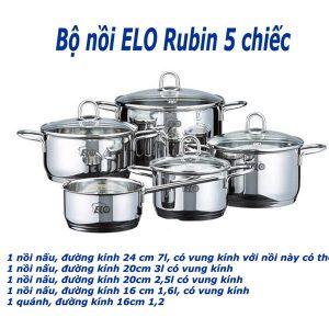 Bộ Nồi Elo Set Rubin